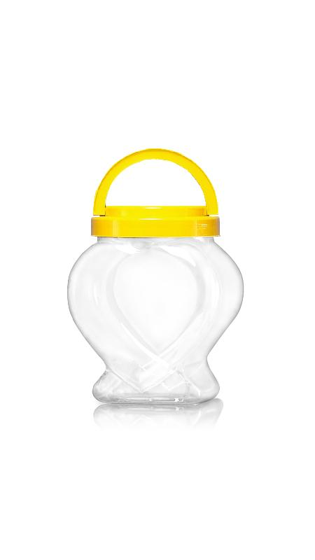 PET 120mm Series Wide Mouth Jar (J2008)