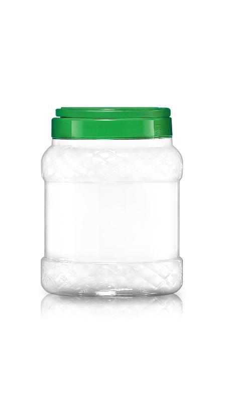 PET 120mm Series Wide Mouth Jar (J1000P)