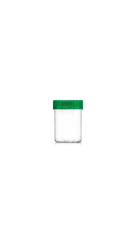 PET 53mm Series Wide Mouth Jar