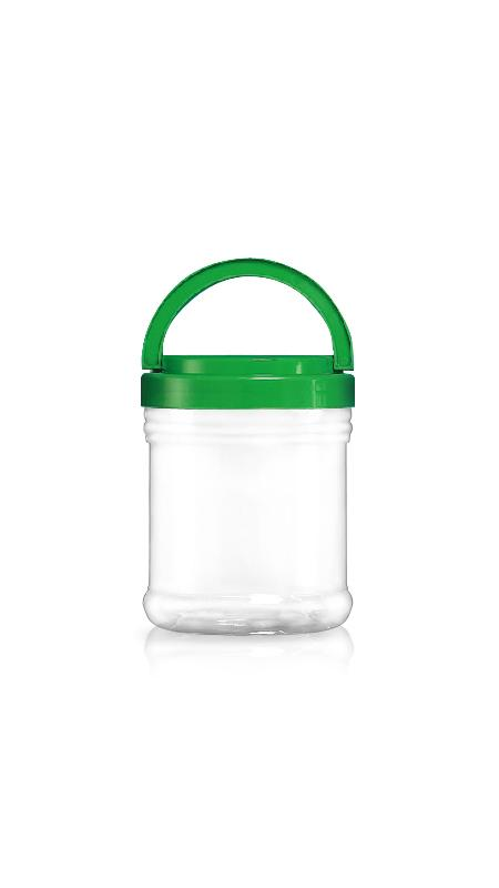 PET 120mm Series Wide Mouth Jar (J1200)