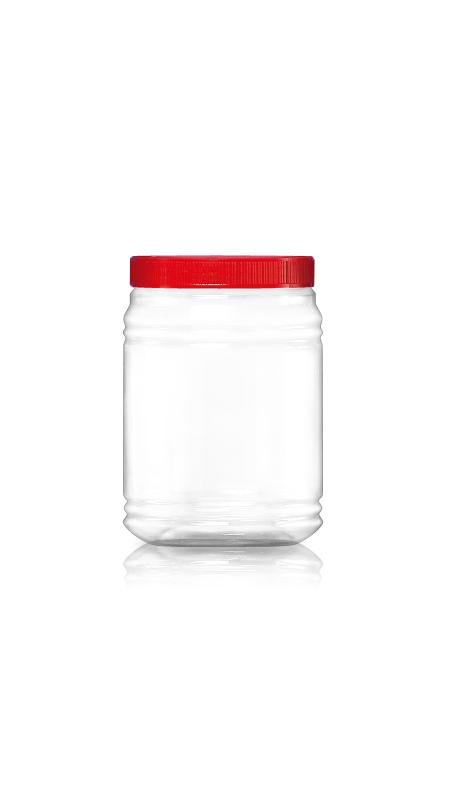PET 120mm Series Wide Mouth Jar (J2036)