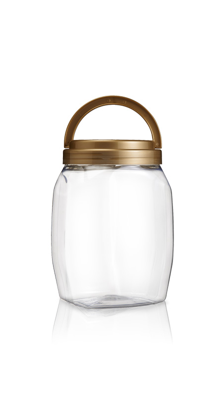 PET 120mm Series Wide Mouth Jar (J2301)