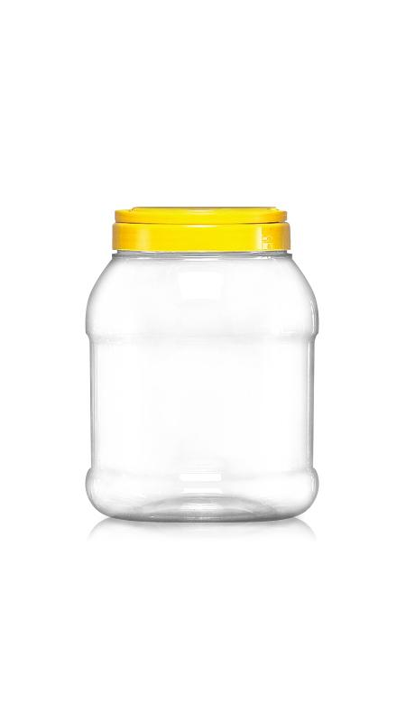 PET 120mm Series Wide Mouth Jar (J1500S)