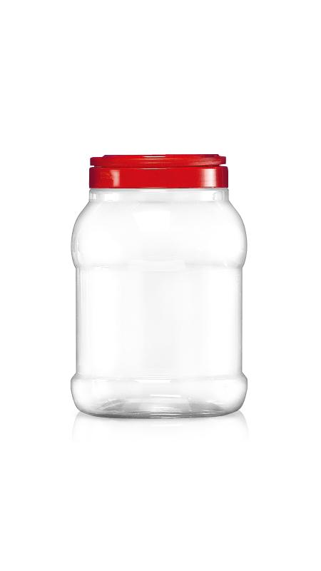PET 120mm Series Wide Mouth Jar (J1501)