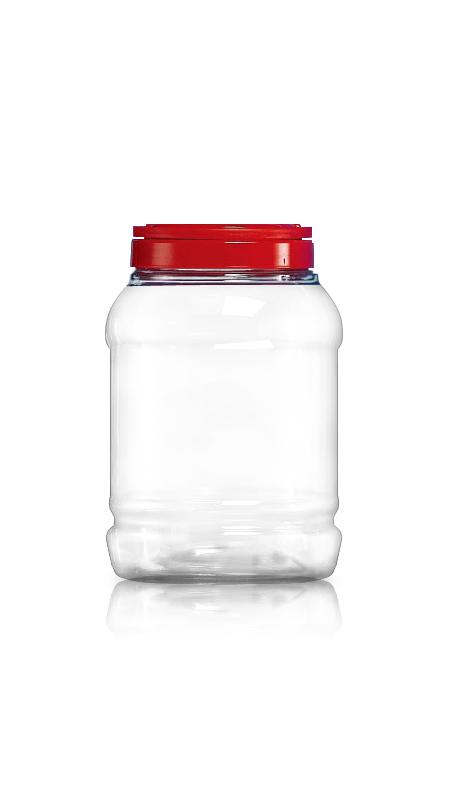 PET 120mm Series Wide Mouth Jar (J1800)