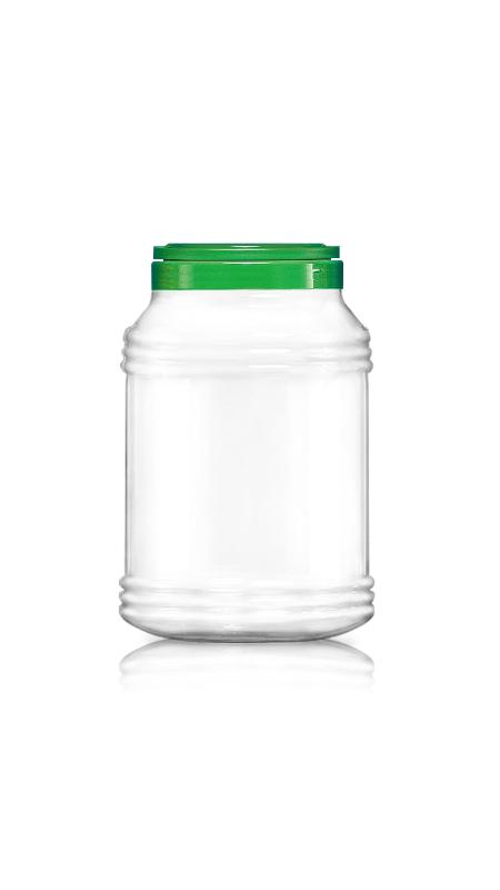 PET 120mm Series Wide Mouth Jar (J4000)