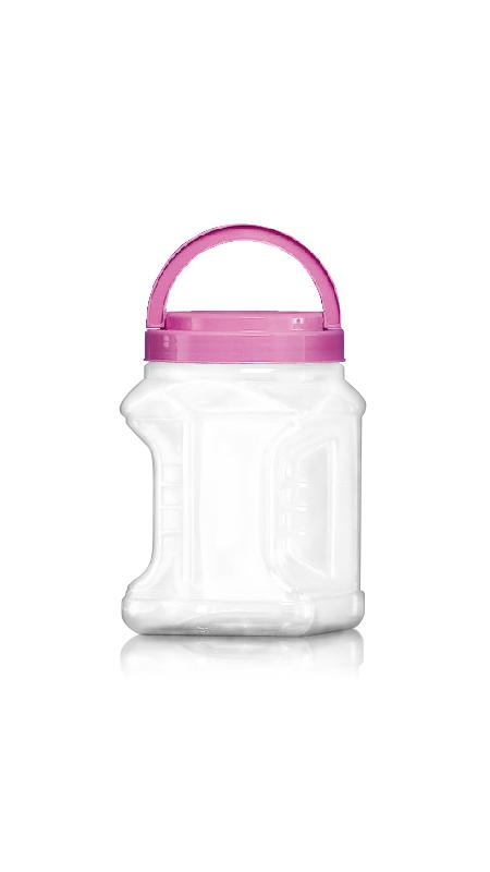 PET 120mm Series Wide Mouth Jar (J1804)