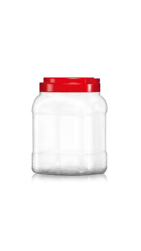 PET 120mm Series Wide Mouth Jar (J1204)