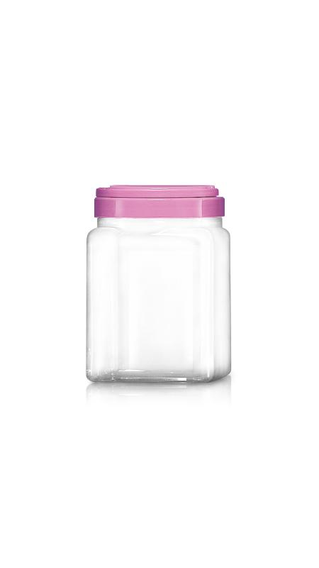 PET 120mm Series Wide Mouth Jar (J2004)