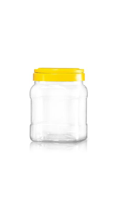 PET 120mm Series Wide Mouth Jar (J1704)