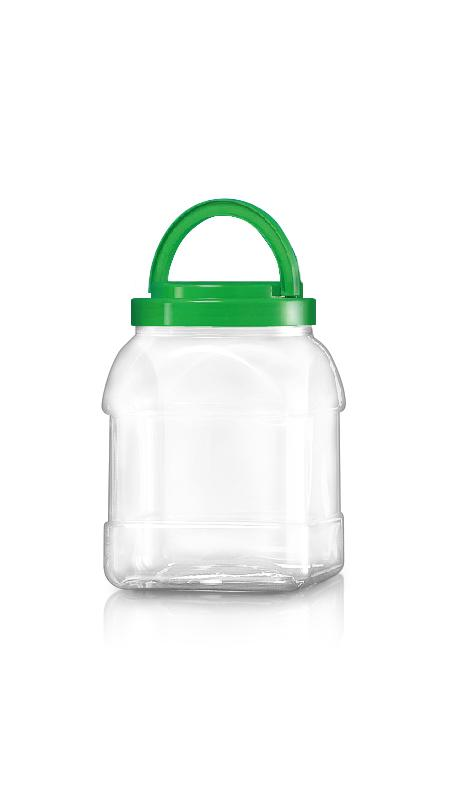 PET 120mm Series Wide Mouth Jar (J2804)