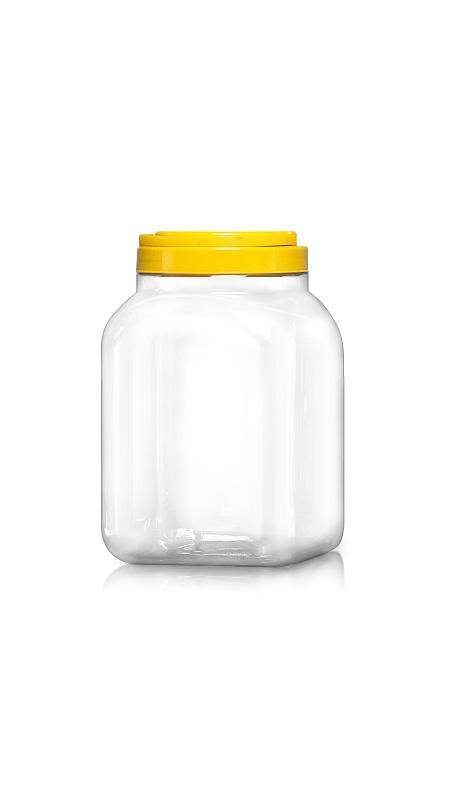 PET 120mm Series Wide Mouth Jar (J3504)